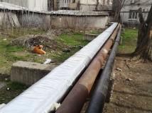 На теплотрасах триває ремонт теплової ізоляції