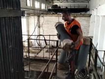 Триває капітальний ремонт водогрійного котла ПТВМ-30 № 2