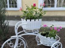Велосипеди з квітами з'явились на клумбах ТОВ «ТЕПЛО-МЕЛІТОПОЛЬ»