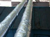 Ремонт теплової ізоляції – до кінця року в планах ТОВ «ТЕПЛО-МЕЛІТОПОЛЬ» ремонтні роботи на ще на багатьох трубопроводах